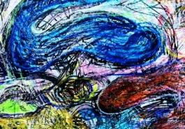 Blue Spiral, DETAIL