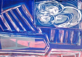 Still Life Triptych 10,Detail