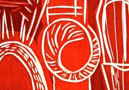 Red Bottle Detail